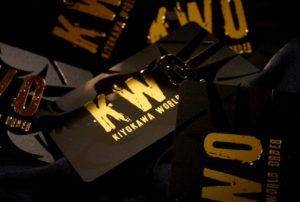 KWO箔押し会員証